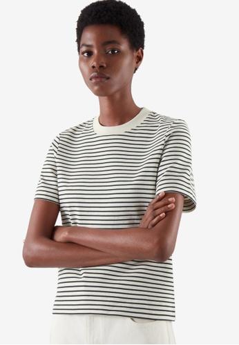 COS black Slim-Fit T-Shirt B151AAAAF236CAGS_1