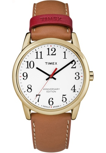 TIMEX brown Timex Easy Reader 38mm TW2R401 4F99FACCA39A7EGS_1