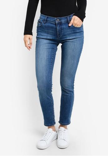 Calvin Klein blue Wonder Mid Rise Skinny Jeans - Calvin Klein Jeans CA221AA0RWTYMY_1