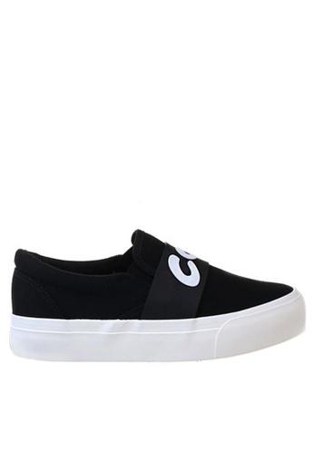 Twenty Eight Shoes black Hot & Cool slip-ons TW446SH45UESHK_1