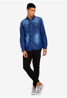 ae575d67fc 44% OFF Brave Soul Denim Long Sleeve Shirt RM 143.90 NOW RM 79.90 Sizes S M  L XL