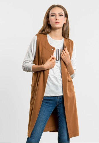 C2 Outfitters brown C2 Sinobu Brown Outer 14FFBAACE25AF3GS_1