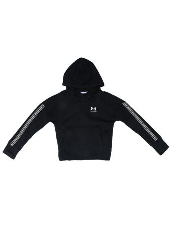 Under Armour black UA Sportstyle Fleece Hoodie 1FA48KAB3D3E8CGS_1