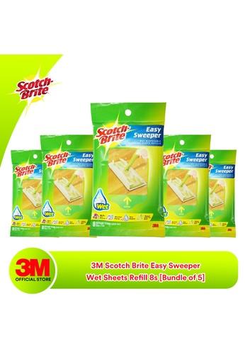 Scotch-Brite 3M Scotch Brite Easy Sweeper - Wet Sheets Refill 8s [Bundle of 5] 5E26FESD3A3A98GS_1