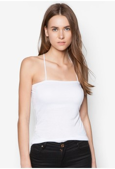 Basic Jersey Tube Top With Straps