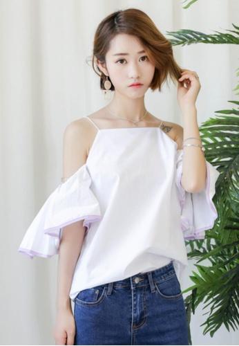 Shopsfashion white Maura Blouse SH656AA10SIJSG_1