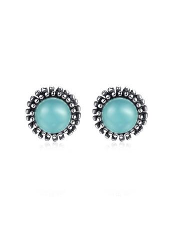 SUNRAIS silver High quality Silver S925 silver simple design earrings 7F5BEACEE0CFC0GS_1