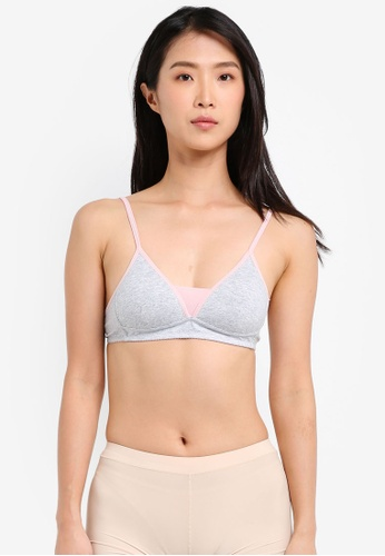 Impression grey Duo Tone Bra IM679US0SVIAMY_1