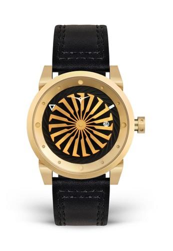 ZINVO gold Zinvo Blade 12K Gold Jam Tangan Pria Automatic Analog CC41FACB13E1BFGS_1