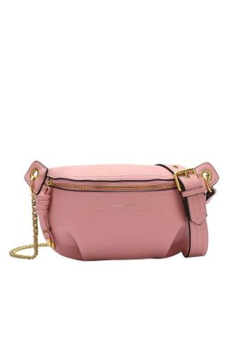 Swiss Polo pink Swiss Polo Ladies Chain Sling Bag C6687AC0BF58ACGS_1
