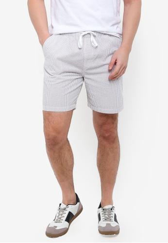 Cotton On 白色 抽繩短褲 E3469AA62F5DCDGS_1