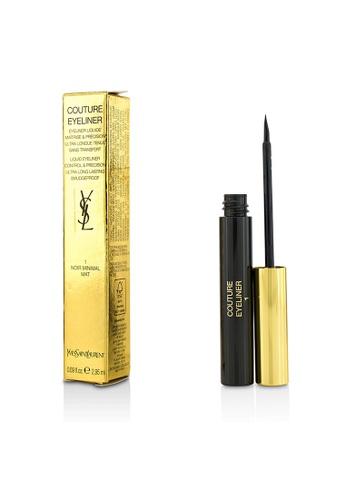 Yves Saint Laurent YVES SAINT LAURENT - Couture Liquid Eyeliner - # 1 Noir Minimal Mat 2.95ml/0.09oz D3C08BEF2FFABFGS_1