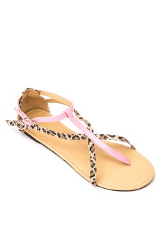 Gia Flat Sandals
