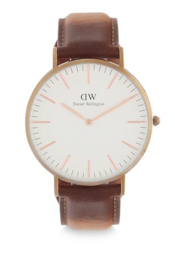 Daniel Wellington brown Classic Durham Watch DA965AC0UKT7ID_1