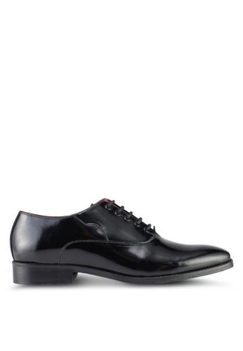 Acuto black Leather Shoes AC283SH0SL5BMY_1
