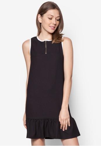 Daphine 荷葉邊滾邊洋裝,esprit台灣 服飾, 服飾