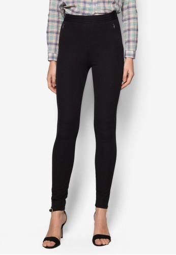 簡約窄管長褲, 服zalora退貨飾, 緊身褲