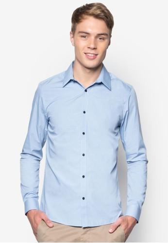 幾何圖形esprit taiwan長袖襯衫, 服飾, 服飾