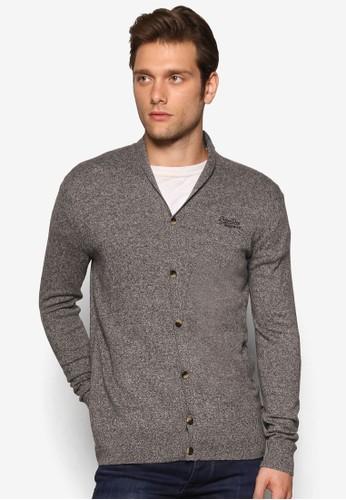 Orange Label 針esprit暢貨中心織V 領外套, 服飾, 開襟外套