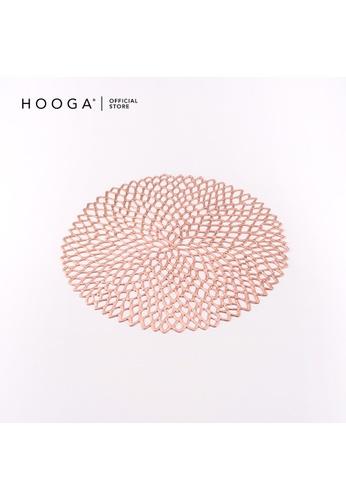 HOOGA pink Hooga Placemat. 64D27HL90C101BGS_1