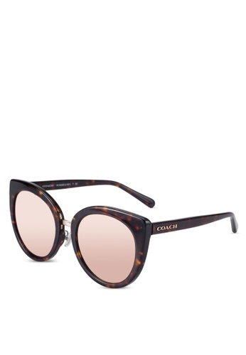 Coach brown Coach Poppy Sunglasses CO897GL51EOIMY_1