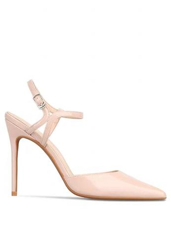 Twenty Eight Shoes 8CM Patent Leather Slingback High Heels LJX08-q B9A75SH8B4FFB6GS_1