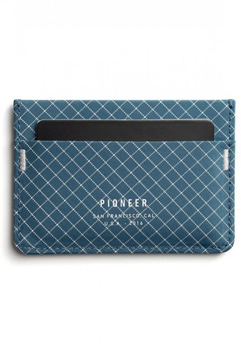 Pioneer blue Pioneer Molecule Card Holder 10XD Ripstop Blue C78F2AC779D4B2GS_1