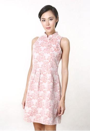 ESYE pink Anna Cheongsam Dress Pink ES046AA73FDIID_1