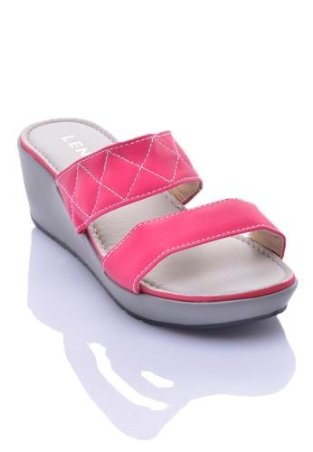 LENO pink KISSY Wedges (LS36530) LE122SH15TUEMY_1