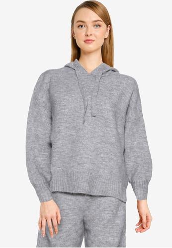 Mango grey Fine-Knit Sweater 3AA7BAA7C5C49FGS_1