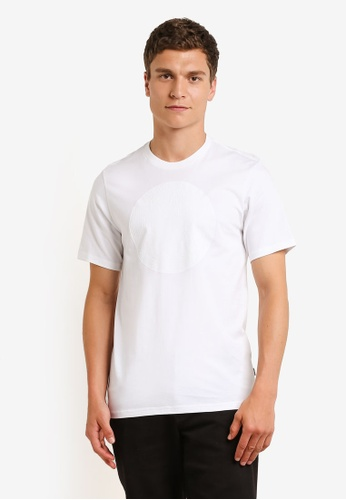 Converse white Topo Chuckpatch T-Shirt CO302AA0RM86MY_1