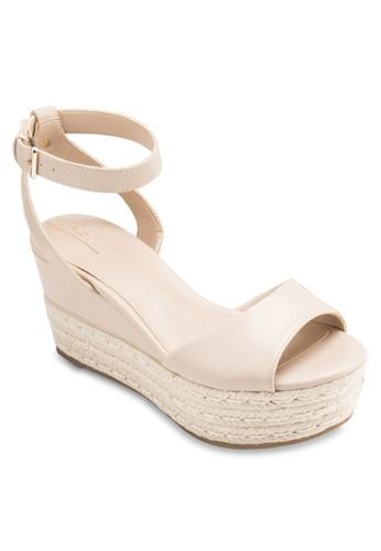 Miraclya 麻編厚底楔型鞋、 女鞋、 鞋ALDOMiraclya麻編厚底楔型鞋最新折價