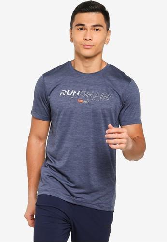 361° blue Running Series Short Sleeve T-Shirt 423C6AA1588BDAGS_1