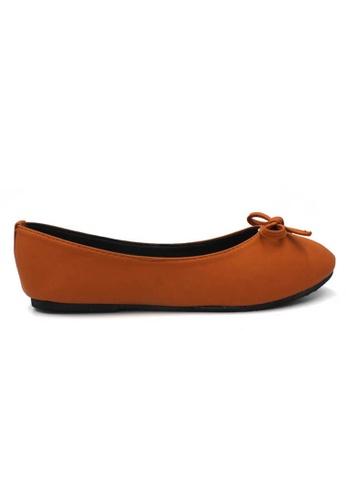 midzone orange MIDZONE Comfortable Ballet Flat 9356ESH7C3EB79GS_1