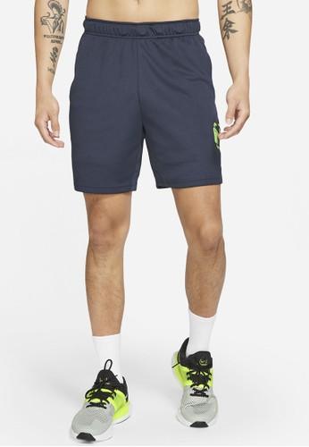 Nike blue As M Nk Df 3Mo Knit Short 5.0 C45BFAAE4D66F7GS_1