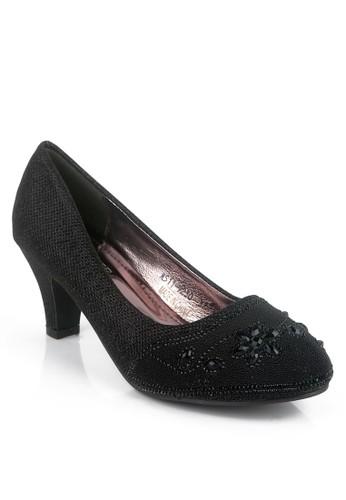 Clarette black Clarette Heels Party Jaelynn Black CL076SH73INIID_1