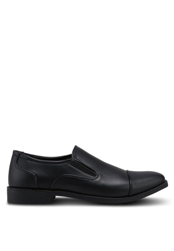 Bata black Slip On Dress Shoes 4AD75SHD9E038CGS_1