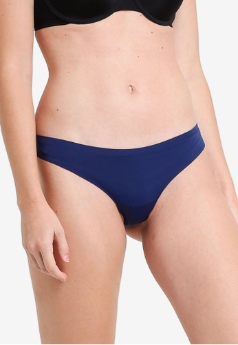 GUESS Womens Solid Thong