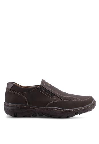 Louis Cuppers brown Casual Slip Ons D98C1SH8426817GS_1