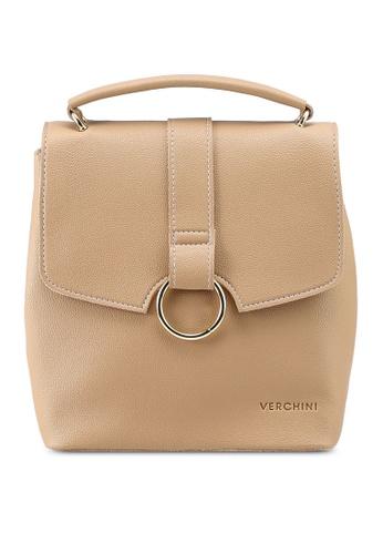 Verchini pink Verchini Mini Backpack Purse F2FC3ACC04518EGS_1