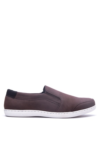 Italianos red Nathaniel Slip-on Sneakers IT153SH70OYZPH_1