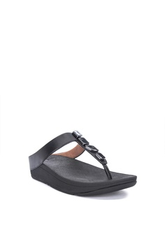 c76b570392f8 Fitflop Fino Shellstone Toe Post Sandals Php 4