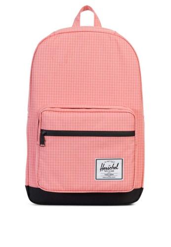 Herschel pink Pop Quiz Backpack HE958AC0KA2NPH_1