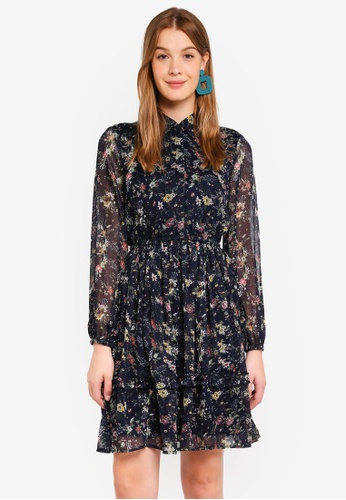 Vero Moda multi Nanna Dress B32DBAABEFBA92GS_1