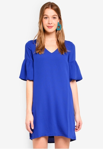 Vero Moda blue Lee Short Dress 6F840AAC742E1FGS_1