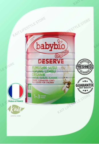 Kait Lifestyle BABYBIO Deserve Cow's Milk 1-3Yrs (900g) 9D487ES63FDABAGS_1