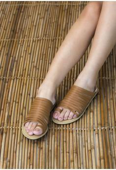Down town Tan sandals