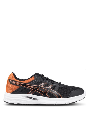 Asics black Gel-Excite 5 Shoes F0164SHA61025DGS_1