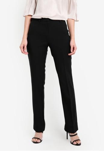 Dorothy Perkins black Black Slim Bootcut Trousers DO816AA0RQUIMY_1