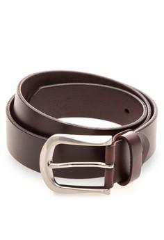 Men's Brown Genuine Leather Belt